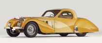 1937 Bugatti Type 57SC Atalante Coupe Goes Under the Hammer