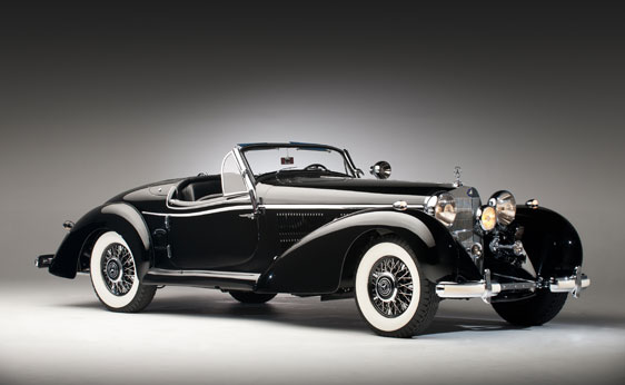 Mercedes Benz K Spezial Roadster Up For Auction on 1936 Mercedes Benz 540k