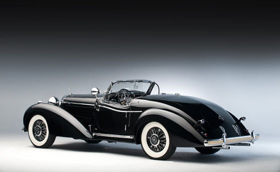 1939 Mercedes Benz 450 K Spezial Roadster Up For Auction