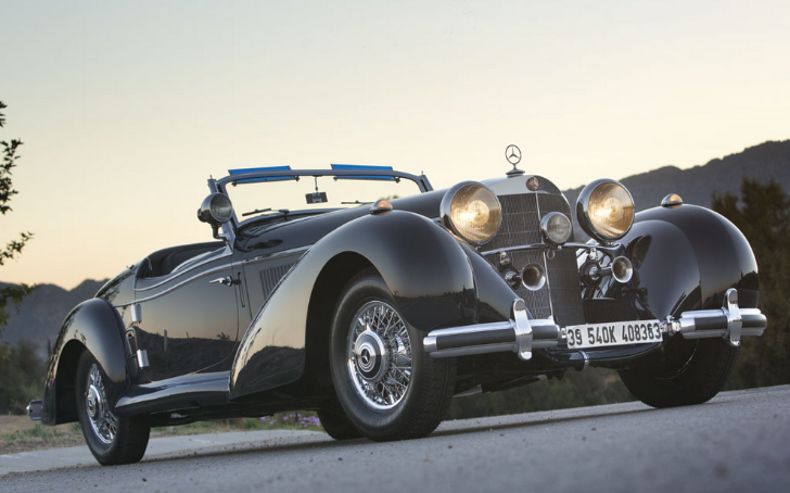 1939 Mercedes-Benz 540K Spezial Roadster Goes for $7.5 million [Photo Gallery]