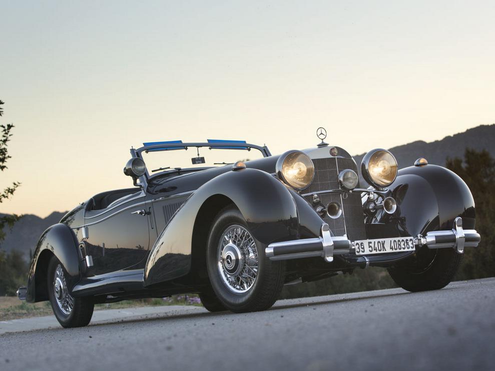 Mercedes Long Beach >> 1939 Mercedes-Benz 540K Spezial Roadster Goes for $7.5 million - autoevolution