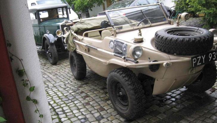 Lastcarnews: 1943 VW Schwimmwagen WWII Amphibious Car for Sale