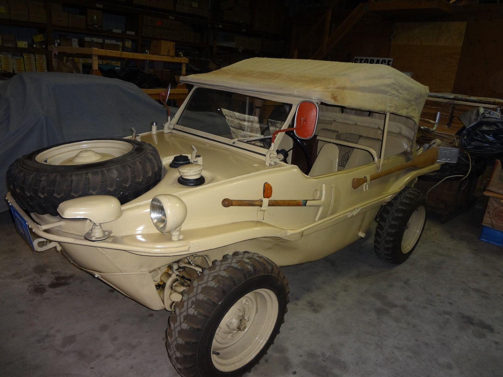 1944 Volkswagen Schwimmwagen Listed On Ebay For $180k ...