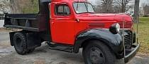 1946 Dodge Job-Rated Dump Truck Is an Art Deco Common Laborer