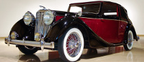 1948 Jaguar Drophead Coupe Goes Under the Hammer