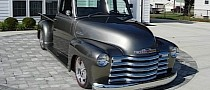 1950 Chevrolet 3100 With Camaro DNA Is Begging to Become a Show Car