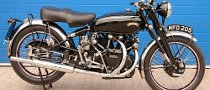 1951 Vincent Black Shadow to Be Auctioned