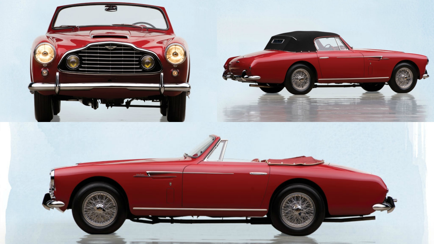 1953 aston martin db2 4 drophead coupe by bertone is classier than a top hat autoevolution. Black Bedroom Furniture Sets. Home Design Ideas