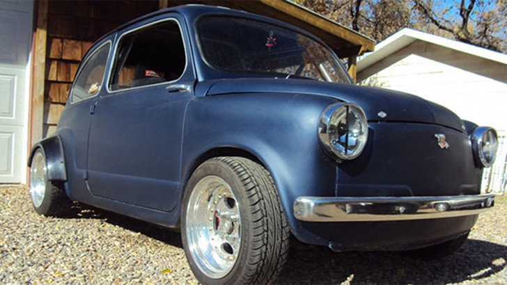 1955 Fiat 600 With Honda Motorcycle Engine For Sale On Ebay Autoevolution