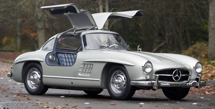 1955 Mercedes 300 SL Alloy Gullwing Sells for $4.62M