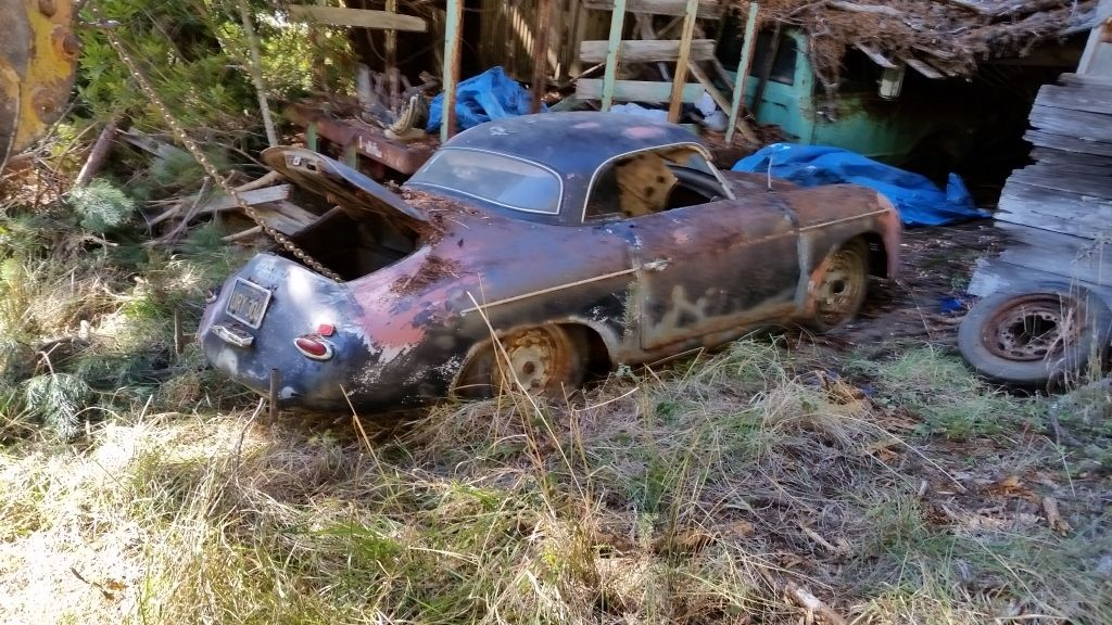 1955 Porsche 356 Speedster Barn Find Lands On EBay But You Wont