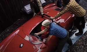 1955 Porsche 550 Spyder Found in Shipping Container Has Been Stored for 35 Years