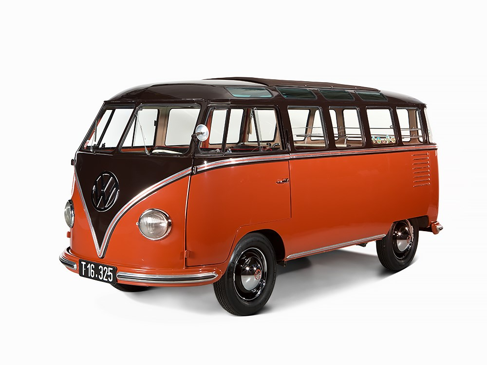1955 volkswagen van sold for 233k not hippie autoevolution. Black Bedroom Furniture Sets. Home Design Ideas