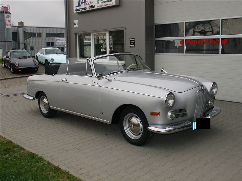 330 000 1958 bmw 502 convertible up for sale in germany. Black Bedroom Furniture Sets. Home Design Ideas