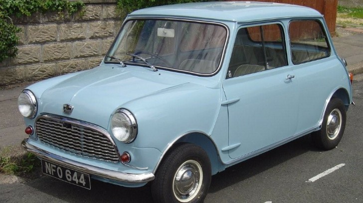 1959 Classic Mini Up for 2013 UK's Classic Car of the Year Award