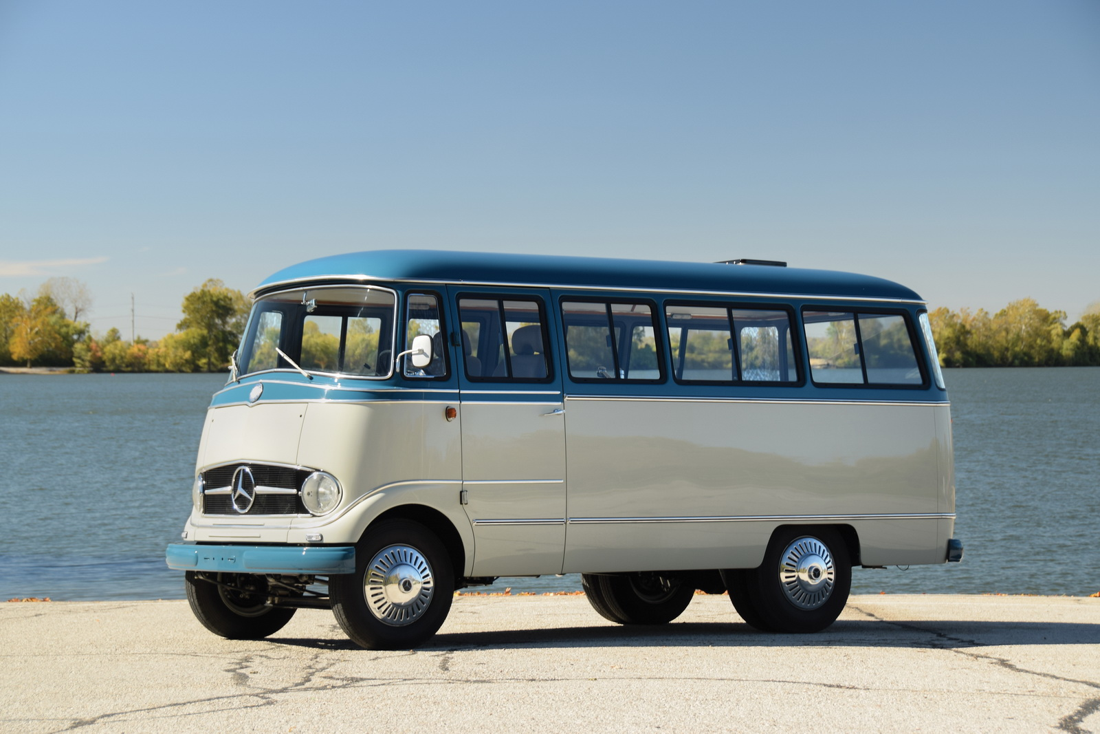 1959 Mercedes-Benz O 319 Camper Van Is Not Your Average ...