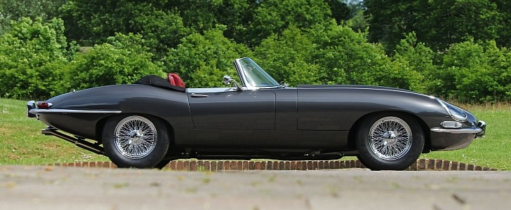 1962 Jaguar E-Type Roadster from Eagle Will Have You Drooling