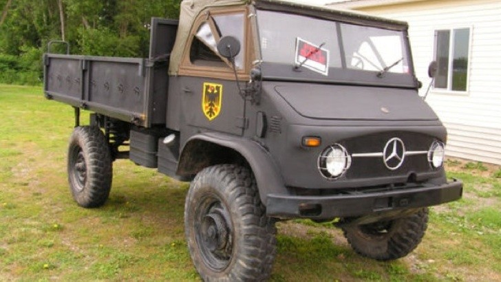 1963 mercedes benz unimog for sale on ebay for Mercedes benz unimog for sale