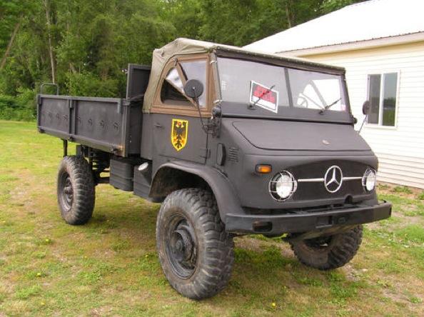 1963 mercedes benz unimog for sale on ebay autoevolution for Mercedes benz for sale ebay