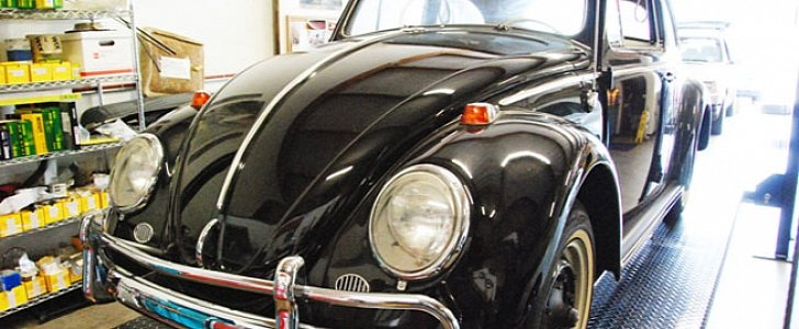 1964 Volkswagen Beetle Driven Only Once Can Be Yours For $1 Million