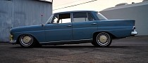 1965 Mercedes-Benz W110 Flaunts Turbo E30 BMW M20 Engine Swap, Air Suspension