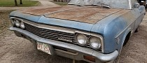 1966 Chevrolet Impala SS Saved from a Barn, Has Been Sleeping for 23 Years