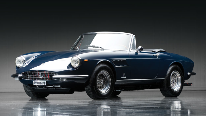 1967 Ferrari 330 GTS To Go Under the Hammer - autoevolution