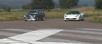 1967 Volvo Amazon Wagon Humiliates Ferrari 458 Italia in Drag Race [Video]
