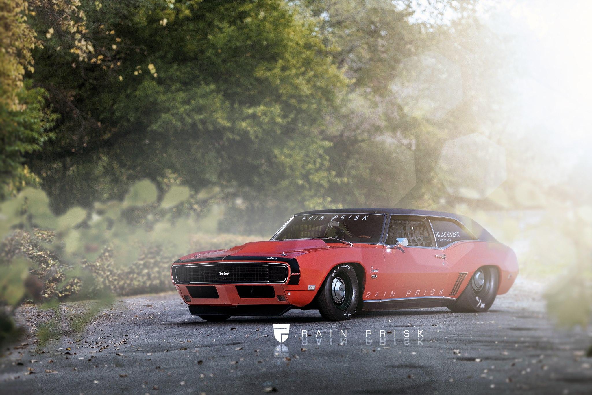 1968 Camaro Shooting Brake Rendering Looks Like A Drag