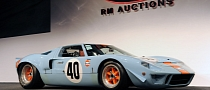 1968 Ford GT40 Gulf/Mirage Auctioned for a Record $11 Million