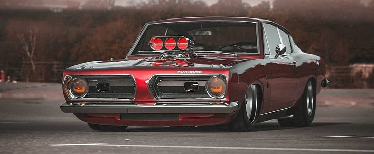"""1968 plymouth barracuda """"cherry"""" is supercharged and then"""
