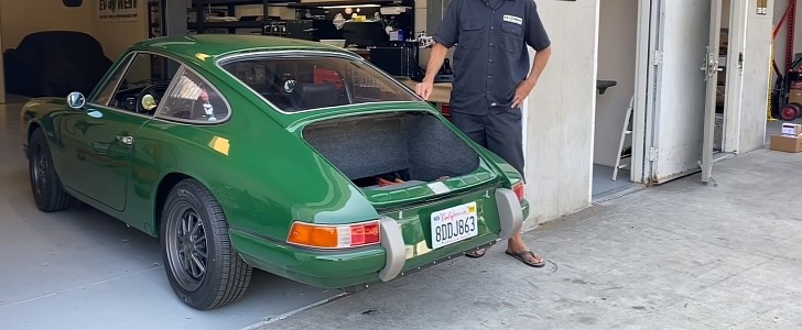 photo of 1968 Porsche 911 EV With Tesla Electric Motor Isn't Your Typical Restomod image