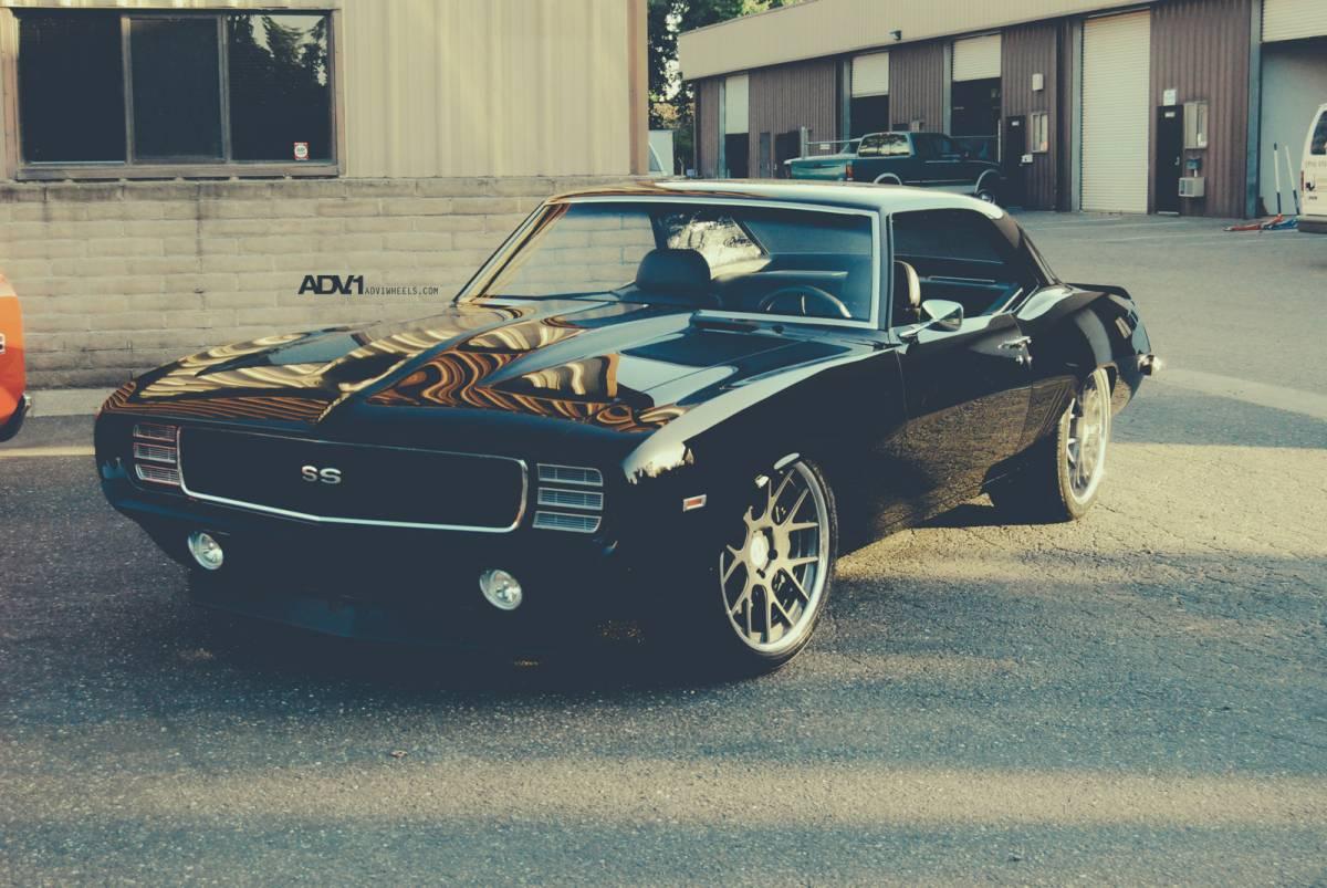 1969 Chevrolet Camaro SS Gets ADV 1 Wheels - autoevolution