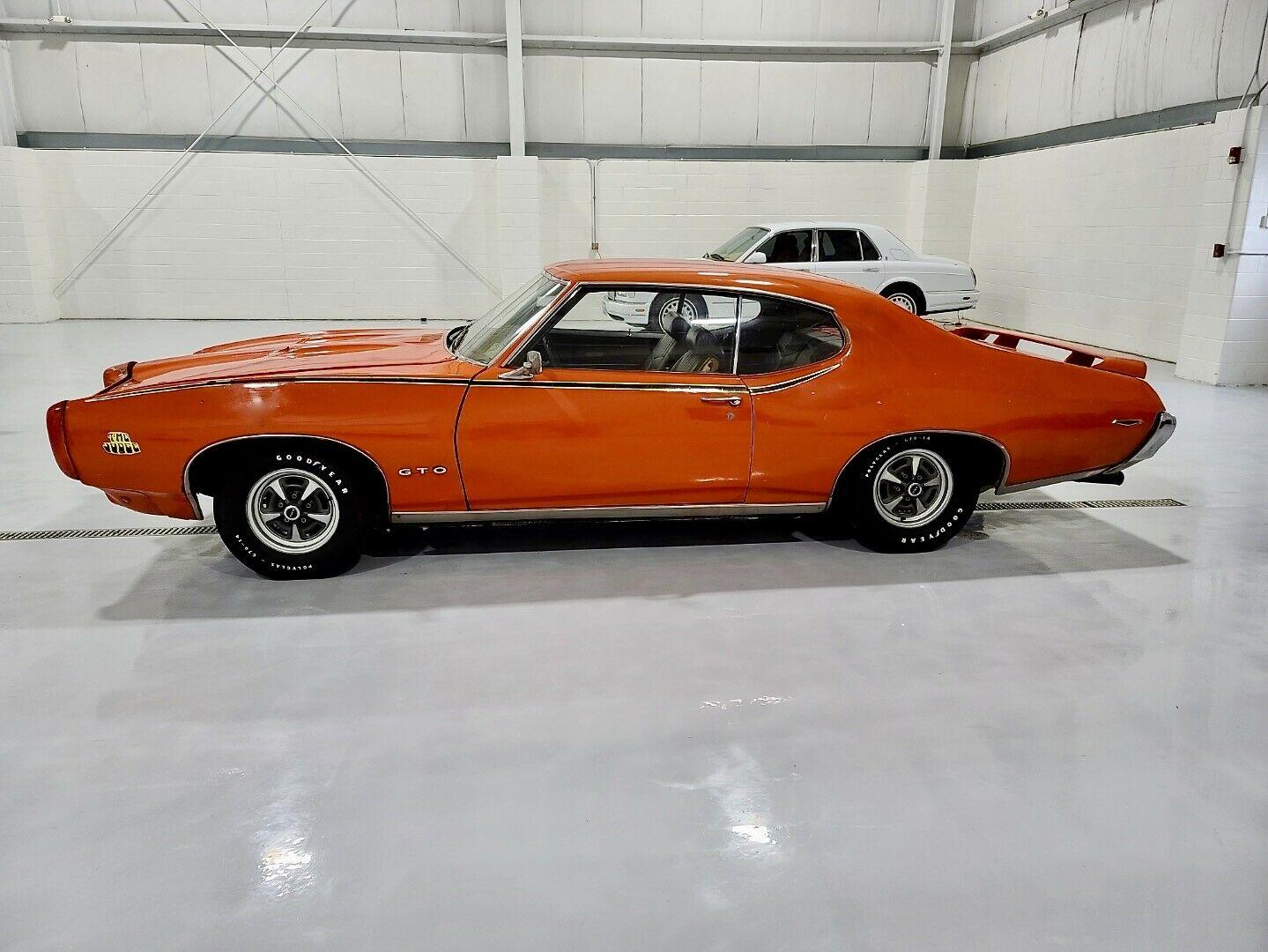 1969 Pontiac Gto Judge With 31k Miles Needs The Finishing Touches Autoevolution