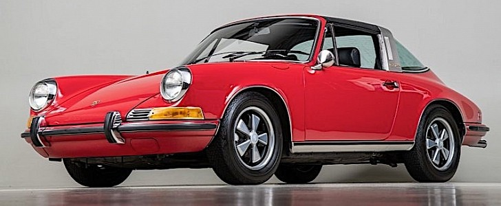 1969 Porsche 911E Targa Is a True Matching Numbers, Cared-For California Car
