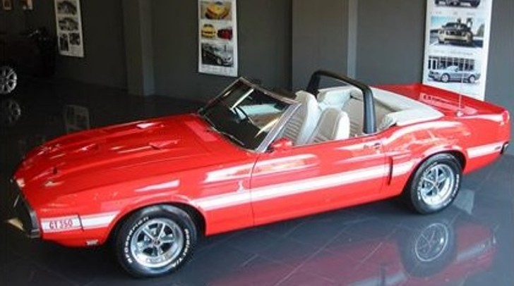 1969 Shelby Gt350 Convertible Vin 0001 For Sale 495 000