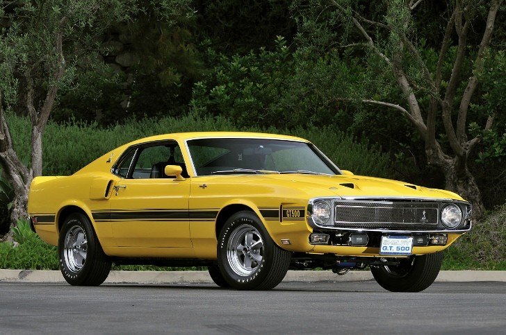 1969 Shelby GT500 Owned by Carroll Shelby Auctioned [Photo Gallery]