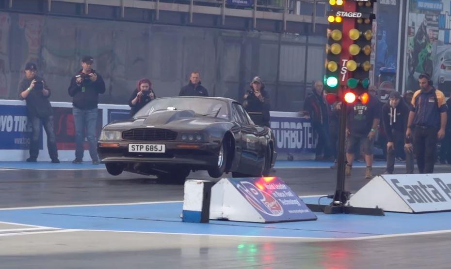 1970 Aston Martin Dbs V8 Gets 2 500 Hp Upgrade Sets 6 9s 1 4 Mile Record Autoevolution