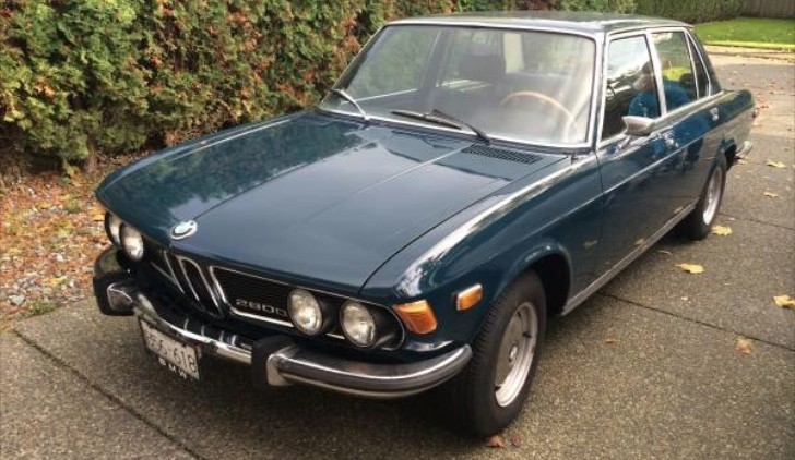 1970 Bmw 2800 Up For Grabs In Canada For Just 5 700 Autoevolution