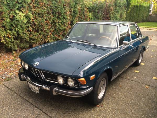 1970 Bmw 2800 Up For Grabs In Canada For Just 5 700