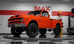 1970 Chevrolet C/K Was Seldom Seen Out, Packs the Right Pull and Climb Gear