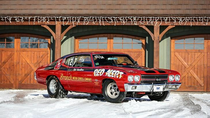 1970 Chevrolet Chevelle Red Alert Super Stock Drag Racer