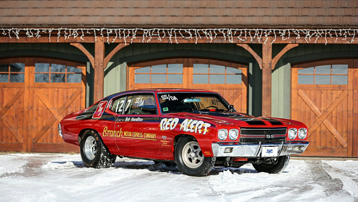 1970 Chevrolet Chevelle Red Alert Super Stock Drag Racer