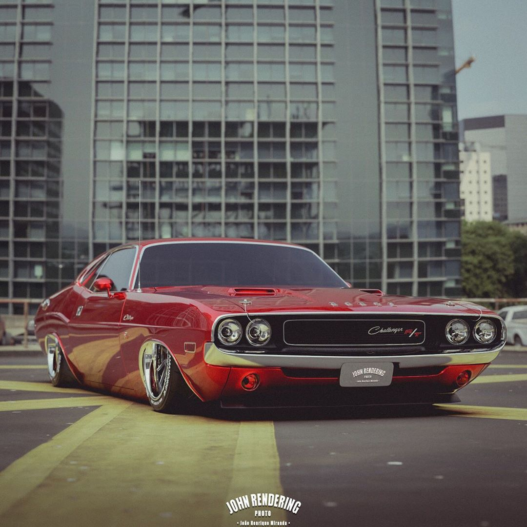1970 Dodge Challenger R T Cherry Cake Is Low Not Slow Autoevolution