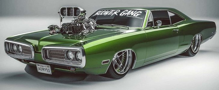 1970 Dodge Coronet Super Bee The Hulk Has A Supercharger For Days Autoevolution