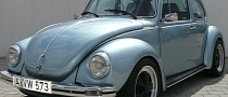 1973 VW Beetle With Impreza STI 2.0L Boxer Engine