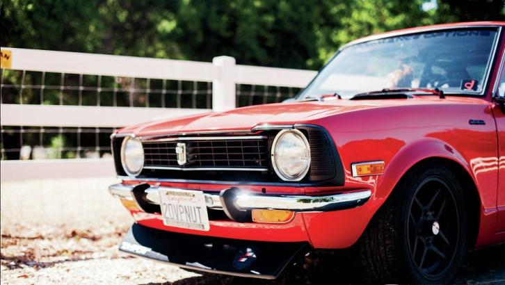 1974 Toyota Corolla Sprinter Using New Tech