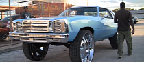 1977 Chevy Monte Carlo Donk on 32-Inch DUB Wheels [Video]
