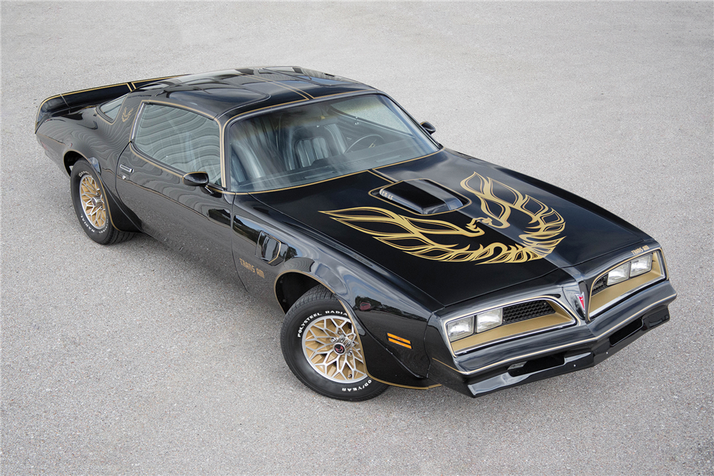 1977 pontiac firebird trans am smokey and the bandit promo car sells for 550k autoevolution. Black Bedroom Furniture Sets. Home Design Ideas
