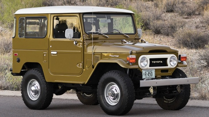 1977 toyota land cruiser fj 40 sold for over 100 000 autoevolution
